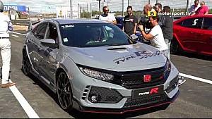 Evento Honda Type R con Pilotos