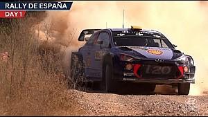 Rally de España día 1 Hyundai Motorsport 2017