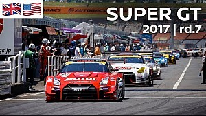 Live: 2017 Super GT - Round 7 - Chang International Circuit (Thai)