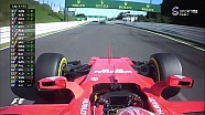 Vettel'in yarış dışı kalışı