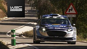 WRC - RallyRACC 2017: Highlights stages 10 - 13