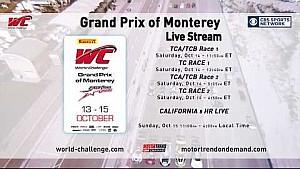 PWC 2017 Grand Prix of Monterey + IGTC California 8 hours CBS promo