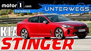 Fahrbericht Kia Stinger GT