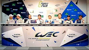 WEC - 2017 6 hours of Fuji - Post-qualifying press conference