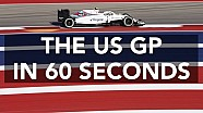 US GP in 60 seconds