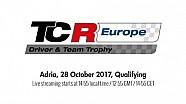 2017 Adria, TCR Europe Trophy qualifying