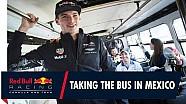 Verstappen Meksika'da otobüse binerse...