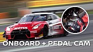 GT-R Nismo GT3 @ Barcelona: Pedal cam + onboard