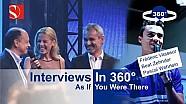 Interviews in 360°: F. Vasseur, B. Zehnder, P. Wehrlein - Sauber F1 Team @ Auto Zürich 2017