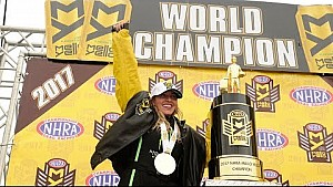 Brittany Force becomes just the second woman to win the NHRA Top Fuel World Championship