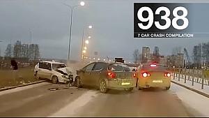 Recopilación de accidentes de coches 938 - noviembre de 2017