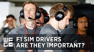 WFG | The importance of a  Formula 1 simulator driver