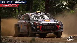 Rallye Australien: Highlights, Shakedown - Hyundai