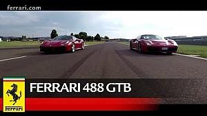 Three Ferrari talents on track at Fiorano