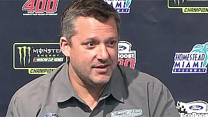 Tony Stewart says he wanted to be like Joe Gibbs