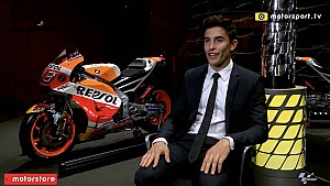Marc Marquez on the Flying Lap