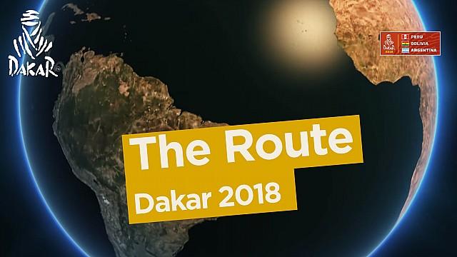 Dakar Video: Die Route der Rallye Dakar 2018