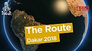 Die Route der Rallye Dakar