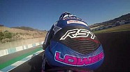 Alex Lowes onboard lap of Jerez