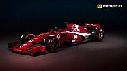 Можлива ліврея нового боліда Alfa Romeo Sauber
