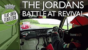 On board touring car madness at Revival