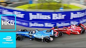 Crashes, onboards & best bits: HKT Hong Kong E-Prix practice & qualifying