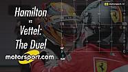 Hamilton vs. Vettel: Das Duell