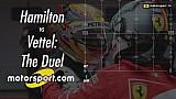 بالفيديو: المنافسة ما بين هاميلتون وفيتيل