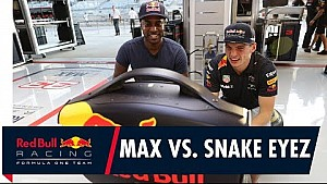 Max Verstappen krijgt klappen in Street Fighter