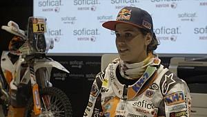 Declaraciones Laia Sanz Presentación Dakar 2018