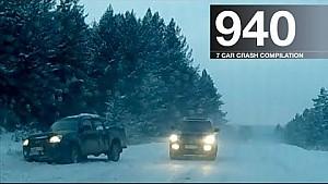 Compilación de accidentes automovilísticos 940 - diciembre de 2017