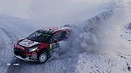 WRC 2017 - Clip aéreo de DJI: rally Suecia
