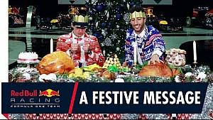 Merry Christmas: Verstappen und Ricciardo