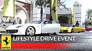 Ferrari lifestyle drive event