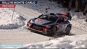 Rallye Monte Carlo previo- Hyundai motorsport 2018