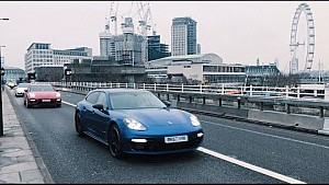 Porsche Gold Rush: Special operation for Porsche on the streets of London