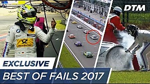 Best of fails 2017 - DTM exclusive