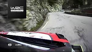 Le Rallye Monte-Carlo 2018 en caméras embarquées