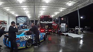2018 road to Daytona - Haulers head out