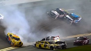 Leaders crash on final lap - ARCA Daytona