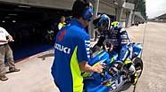 Peran pembalap tes bagi tim pabrikan