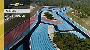 Présentation de la piste du Grand Prix de France de F1