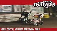 World of Outlaws Craftsman sprint cars Volusia speedway park February 11th, 2018 | Highlights