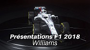Présentations F1 2018 - Williams