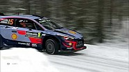 2018 Rally Sweden recap clip Saturday 1