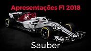 Apresentações Fórmula 1 2018 - Sauber