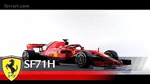 フェラーリSF71-H - 発表動画