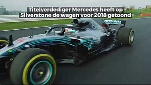 Presentaties F1 2018: Mercedes