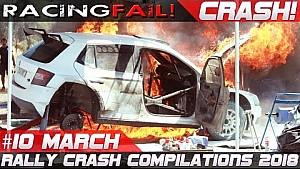 Recopilación de choques de rallyes semana 10 de marzo de 2018 | Racingfail