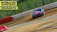 World RX test Loheac | Highlights